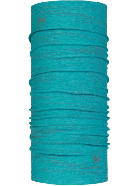 Buff Dryflx Neck Tube Reflective-Turquoise